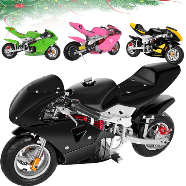 Kids Mini Gas Power Dirt Bike Motorcycle Ride on 49cc 4 Stroke Child Xmas Gifts $119.99