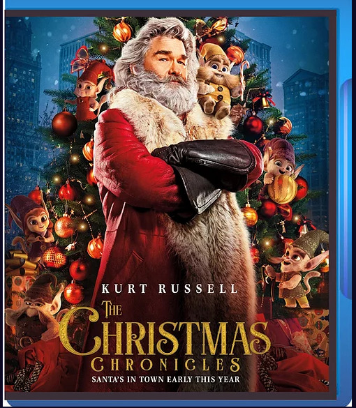 The Christmas Chronicles 2018 Blu ray Kurt Russell Region Free Ship world