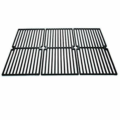 Universal Gas Grill Grate Cast Iron Cooking Grid Replacement Brinkmann 810 7490