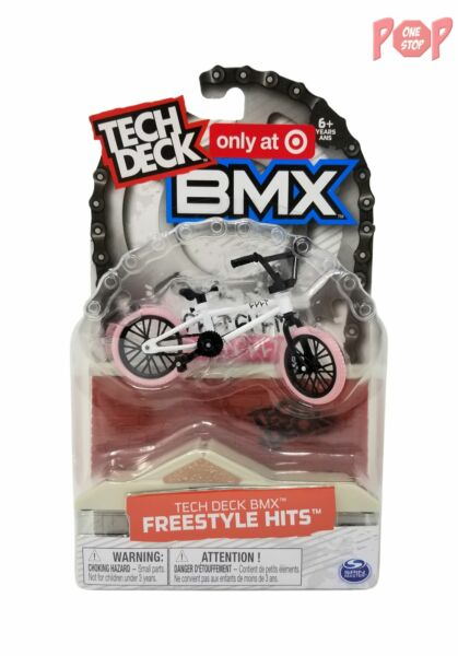Tech Deck BMX Freestyle Hits Cult Pink White Bike Target Exclusive $19.97