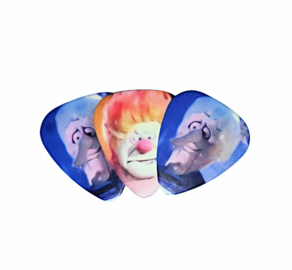 Set of 3 Heat and Snow Miser Brothers TYWASC premium Promo Guitar Pick Pic $9.99