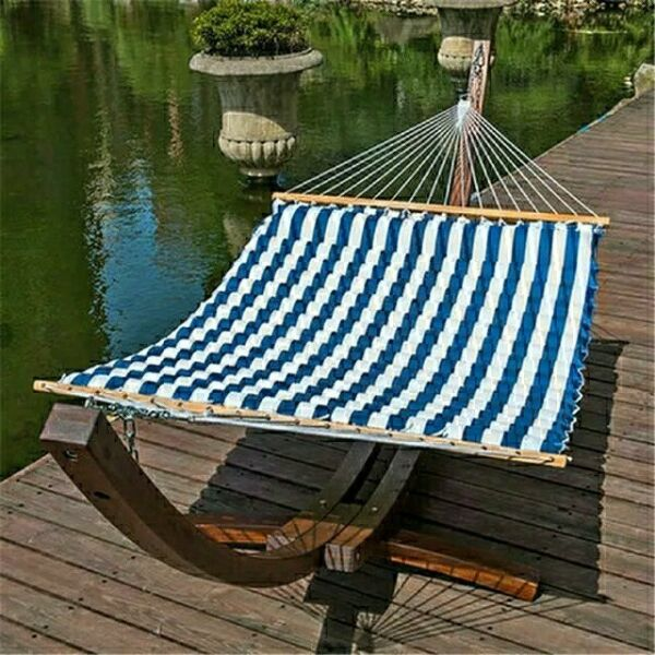 Wooden Arc Hammock Stand w 12 ft  Hammock stand Outdoor brand new $199.00