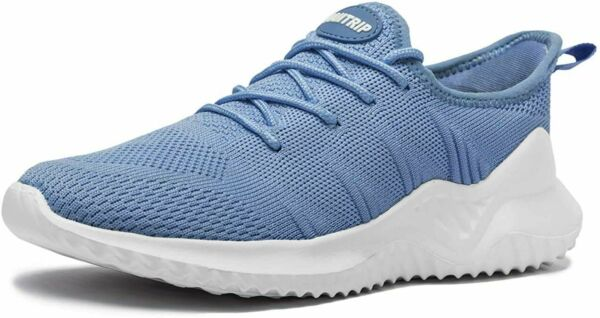 2 Pair Blue MAlITRIP Men#x27;s Ultra Lightweight Breathable Walking Shoes