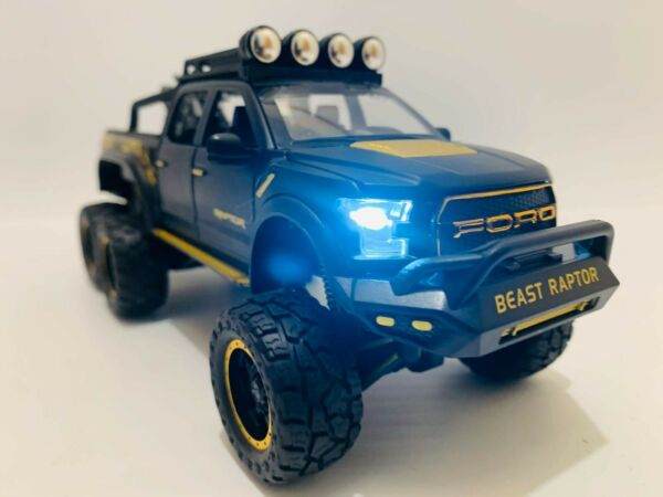 Ford f150 Raptor Model Alloy Car Die Cast 1:24 Toy Hot🔥model Collectible 🇺🇸