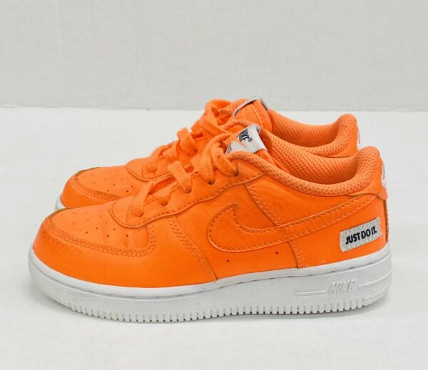 Nike Air Force 1 LV8 quot;Total Orangequot;Toddler 10C Air Force Ones Forces Sneakers $39.99