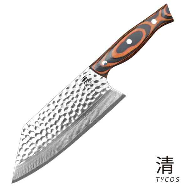 Serbian Handmade Forged Butcher Chef Knife Chopping Cleaver Kitchen Knife