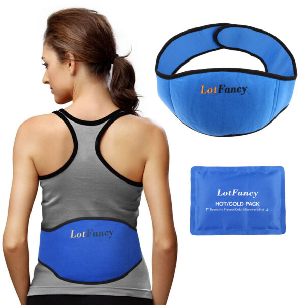 Pain Relief Gel Pack Hot Cold Ice for Injuries Relief Lower Lumbar Sciatic Nerve $13.99