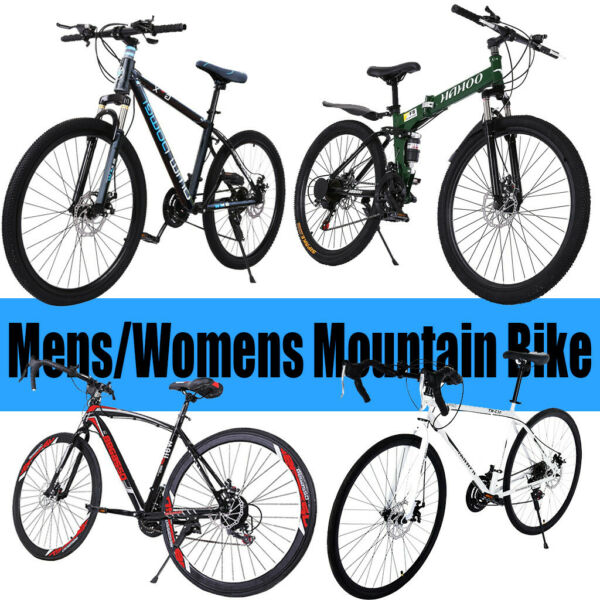 26in 21 Speed Mountain Bike Mens Womens Mountain Bike Road Bike $169.99