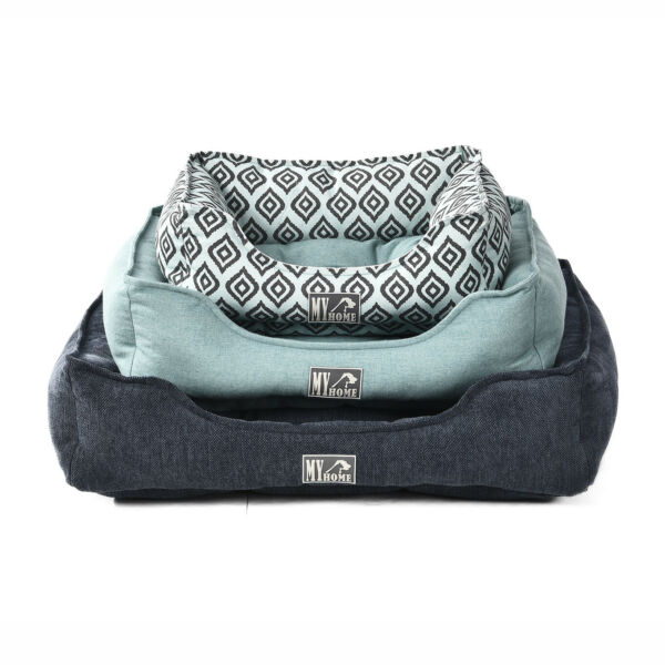Luxury Canvas Pet bed large calming dog beds. $20.00