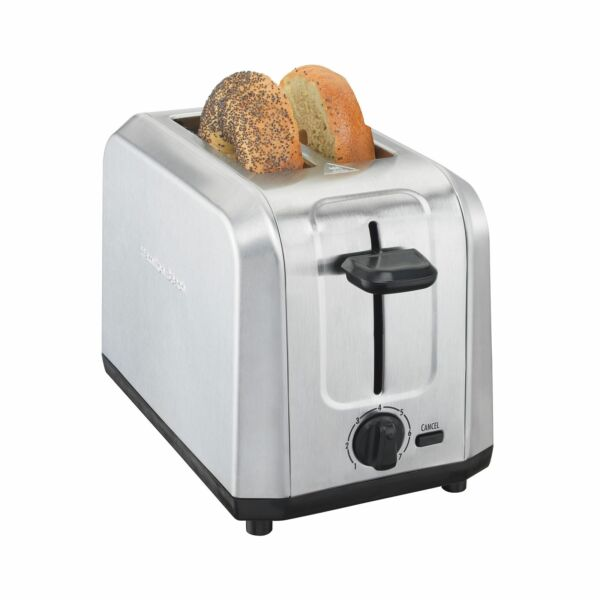 Hamilton Beach 2 Slice Toaster Stainless Steel Silver