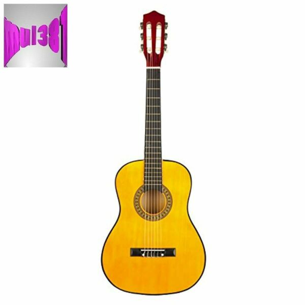 Music Alley Classical Guitar 6 String Junior Right Natural MA34 N Ash Wood New $54.59