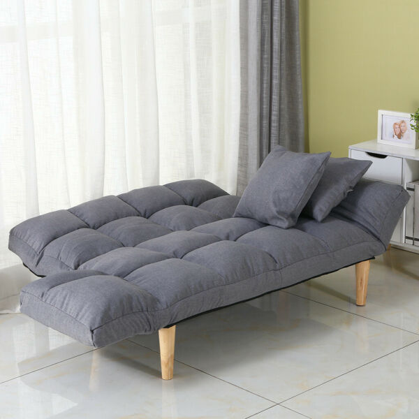 Memory Foam Futon Sofa Bed Couch Sleeper FULL Size Convertible Foldable Loveseat $163.99