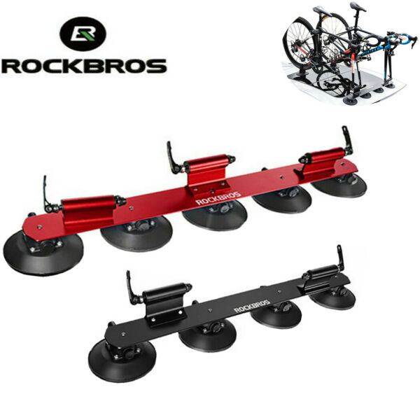ROCKBROS Bicycle Rack Suction Roof Bke Car Racks Carrier Quick Install Roof Rack $179.99