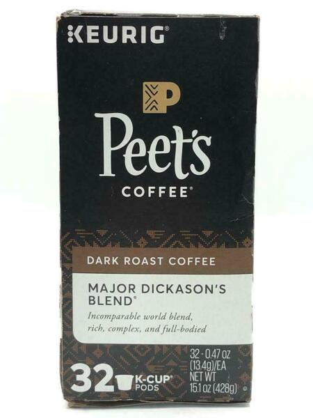 Keurig Starbucks Major Dickason Blend Medium Roast K Cup 32 ct