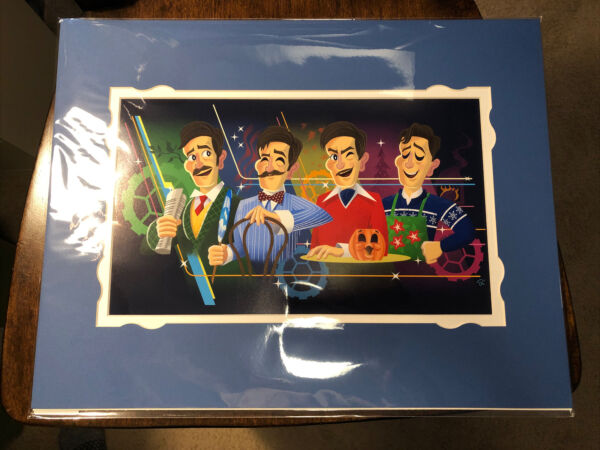 2021 Disney Parks Walt Disney's Carousel Of Progress Matte Print Sam Carter