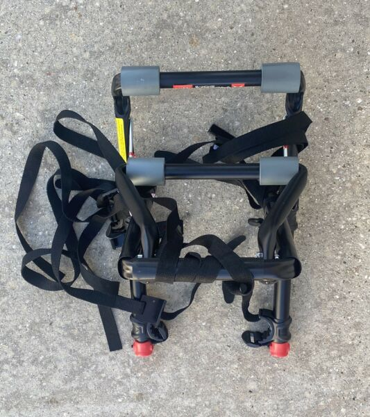 Allen Sports Deluxe 2 Two Bike Bicycle Car Trunk Mounted Rack Carrier Model102DN $24.99