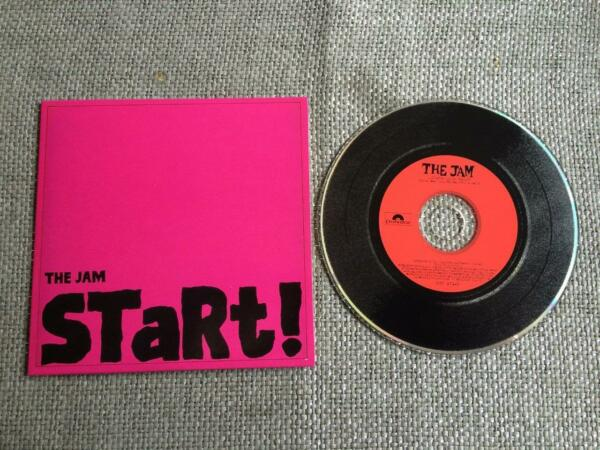 The Jam CD Single Start Card Sleeve