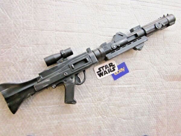 Star Wars Clone Build Own Blaster Rifle Commander Painted Weathered Gun Prop B