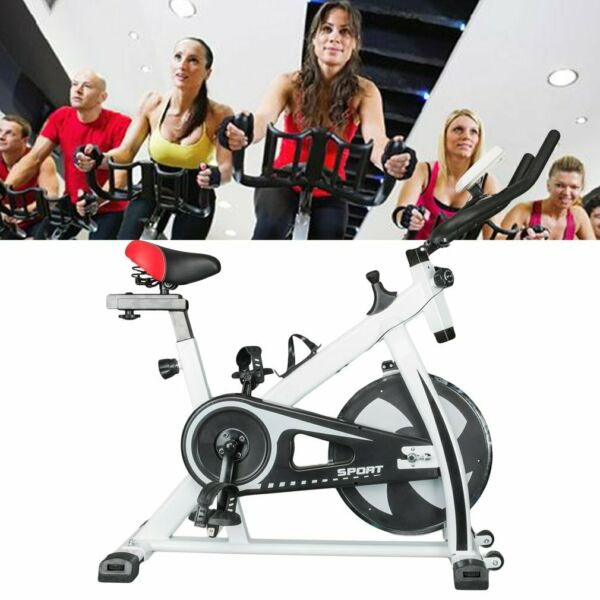 Indoor Exercise Cycle Bike Stationary Cycling Exercise Home Gym Equipment LCD $180.00