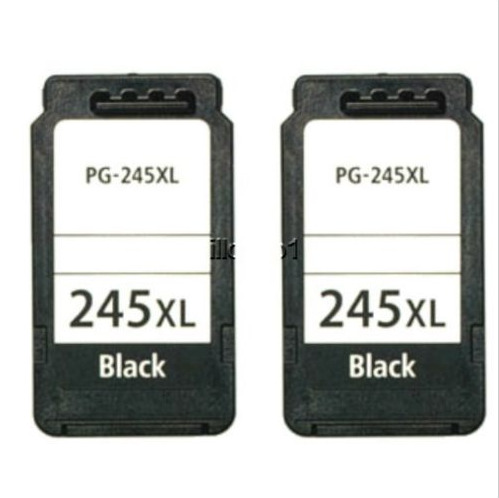 Canon PIXMA MG2920 MG2922 MG2924 MX492 2 PACK PG245 XL Black Ink Cartridges For