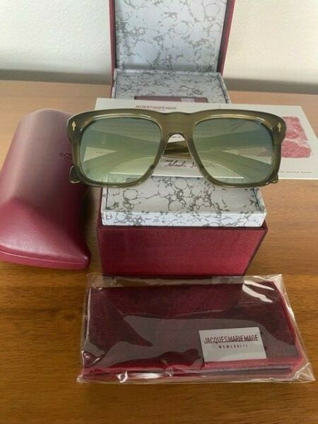 Jacques Marie Mage Yves Army Sunglasses