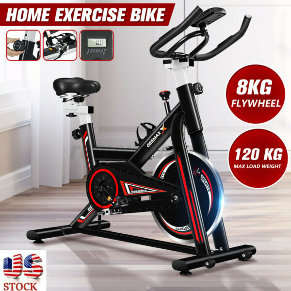 GEEMAX Exercise Bicycle Cycling Fitness Stationary Bike Cardio Home Workout Gym $175.75