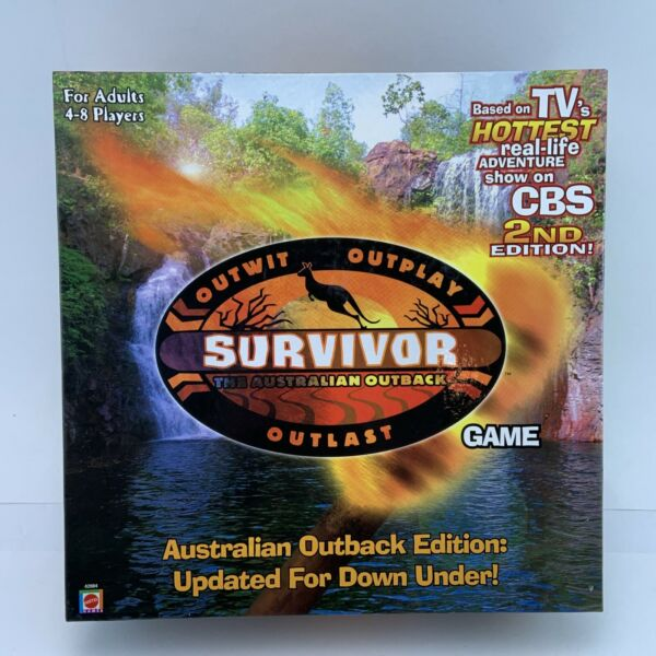 Survivor the Australian Outback 2nd Edition Board Game $20.60