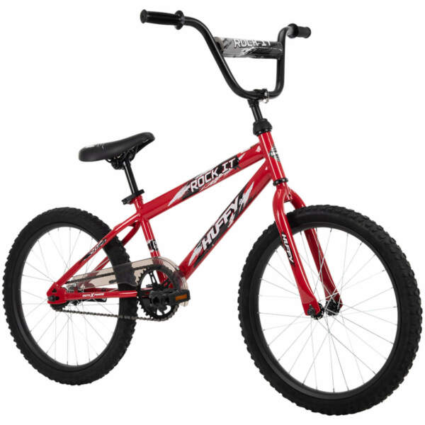 New Huffy 20quot; Rock It Kids Bike for Boys Hot Red W FREE US Shipping $99.95