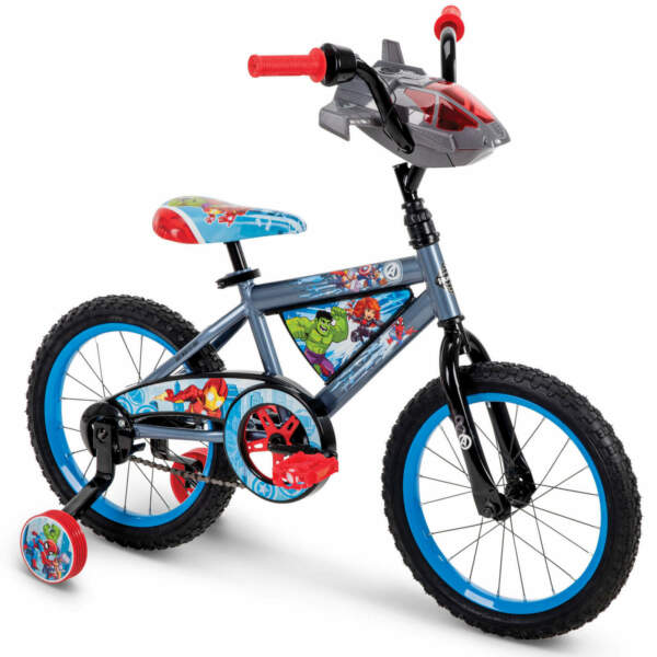 New Marvel Avengers 16 inch Boys Bike for Kids by Huffy W FREE US Shipping $108.89