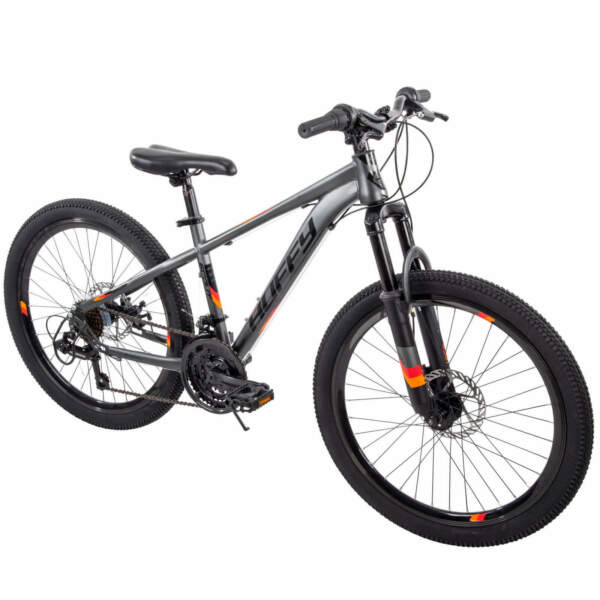 New Huffy 24quot; Scout Boys#x27; Hardtail 21 Speed Mountain Bike with Disc Brakes W $160.74