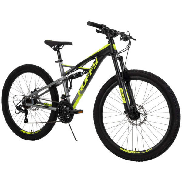 New Huffy 26 inch Oxide Mens Mountain Bike Dual Suspension W FREE US Shipping $243.70