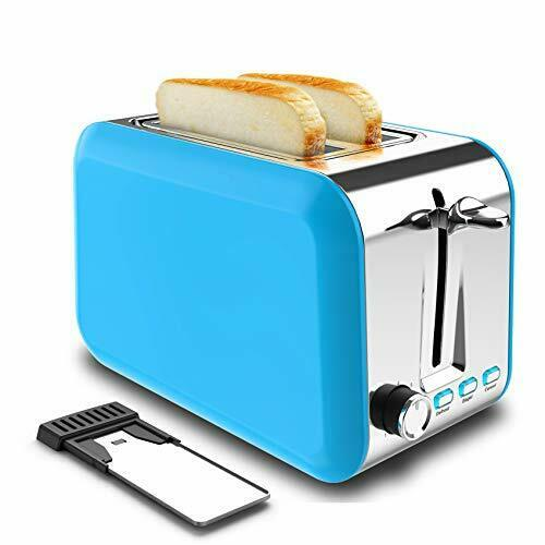 2 Slice Toaster Stainless Steel Best Rated Prime Toaster 2 Slice with Blue