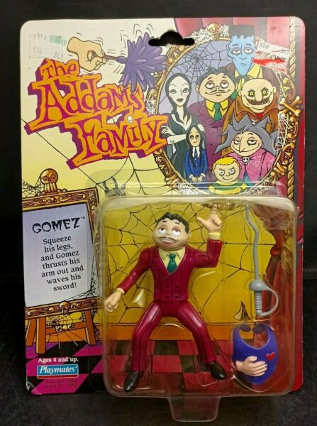 Vintage The Addams Family Gomez Playmates Action Figure 1992
