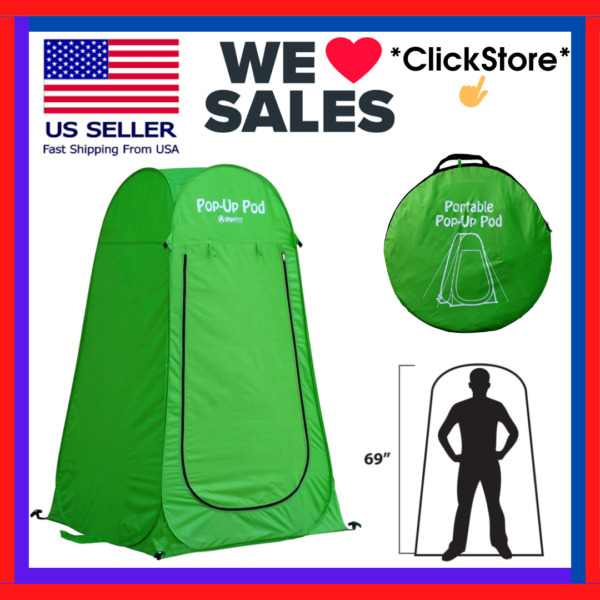 Pop Up Pod Changing Room Privacy Tent Instant Portable Outdoor Shower Tent Camp $28.89