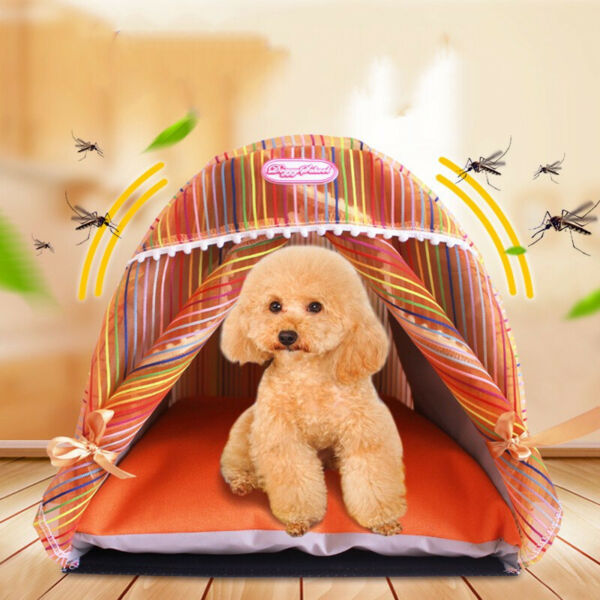 Dog Bed Tent Mat Pad Cat Sofa Pet Bed Sleep Bag Teddy Cat Puppy House Nest $65.24
