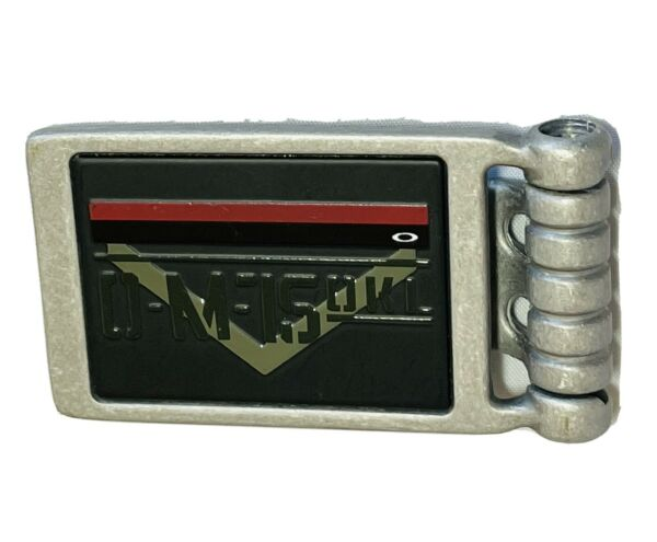 New Oakley Military Money Clip Rare Collectible Wallet X Metal Display Billfold $159.99
