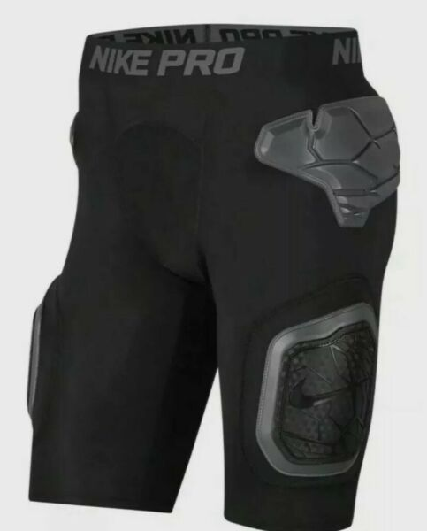 Nike Pro Sport Hyperstrong Short Football Girdle Black Men#x27;s S L AO6229 010 New