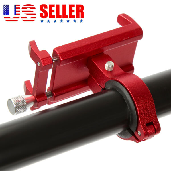 Aluminum Motorcycle Bicycle Bike Mount Holder Handlebar for Cell Phone GPS USA $8.88