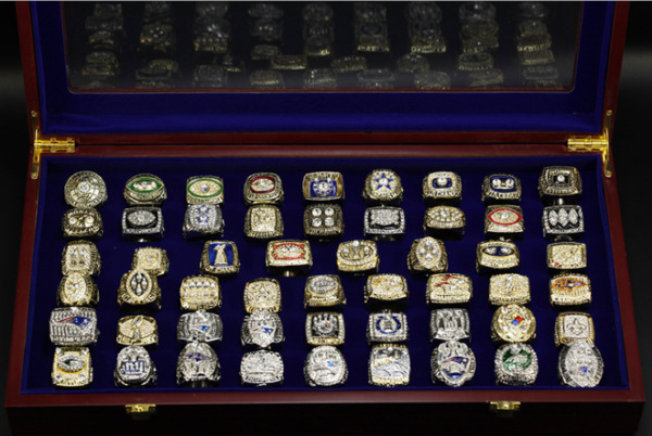 ALL Championship Rings NFL 1933 2020 years SUPER RINGS BOWL