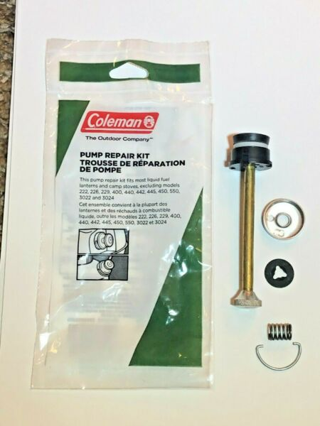 Coleman Pump Repair Kit For Most Coleman Liquid Fuel Lanterns amp; Camp Stoves $19.99