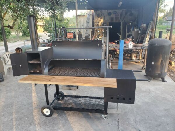 Custom Backyard Bbq Smoker grill. Delivery available.