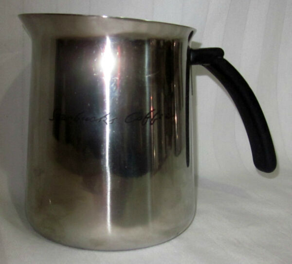 STARBUCKS 20 OZ STAINLESS STEEL FROTHING PITCHER
