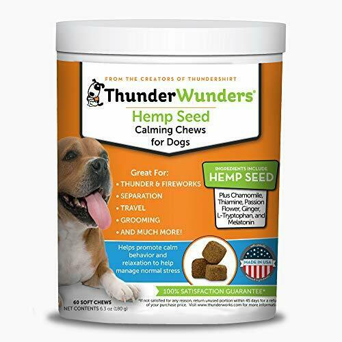 ThunderWunders Hemp Dog Calming Chews Vet Recommended for Situational $23.46