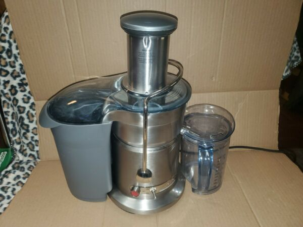 Breville 800JEXL Juice Fountain Elite Centrifugal Juicer Brush Stainless1000watt