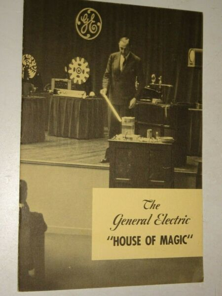 1940 General Electric The General Electric House of Magic booklet