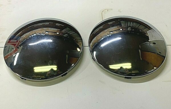 NOS OEM SIMPLICITY TRACTOR HUB CAP SET 9.5 inch and 3.5 inch 1667782163114sm