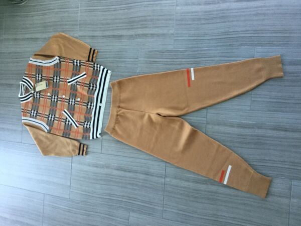 Burberry women's Sweater amp; Joggers sweatpants Preowned $350.00