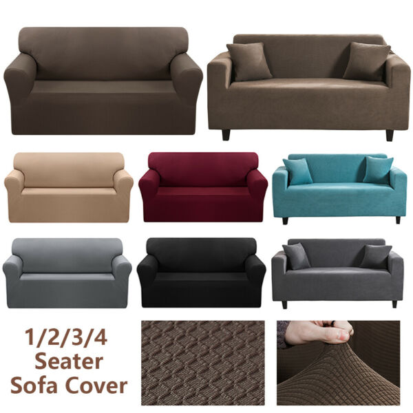 Waterproof Jacquard Stretch Sofa Slipcovers Chair Sofa Couch Cover Protector