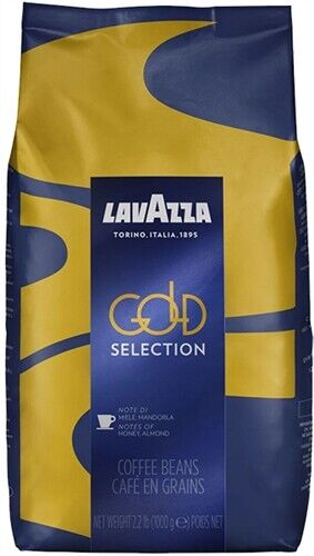 Lavazza Gold Selection Whole Bean Coffee Blend Medium Espresso Roast 2.2 Pound