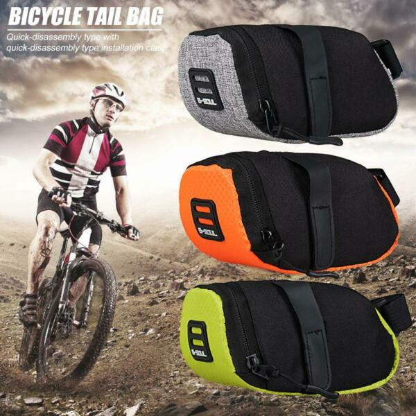 MTB Mountain Bike Bag Pouch Road Bicycle Cycling Seat Saddle Bag Accessories US $8.91